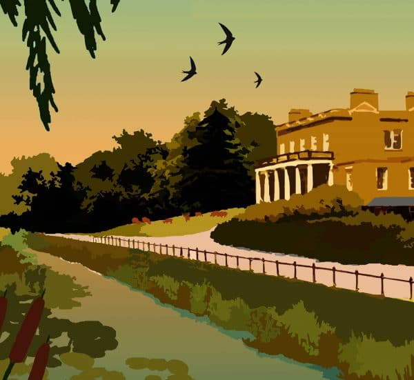 clissold park poster print