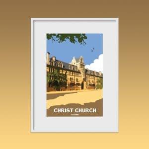 christ church oxford poster print