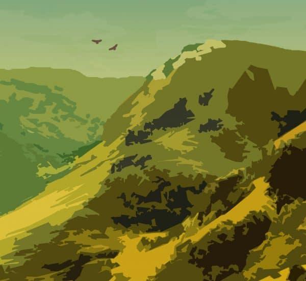 explore nature poster print