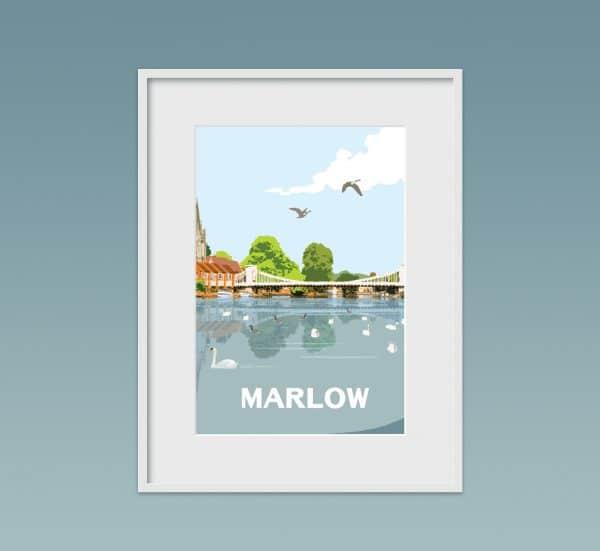 Marlow poster print