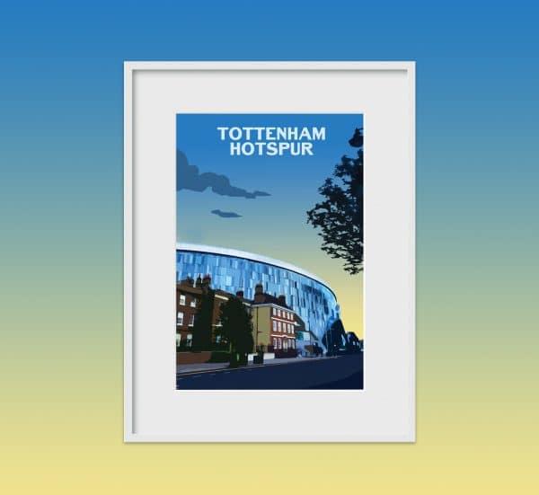 Tottenham hotspurs poster print